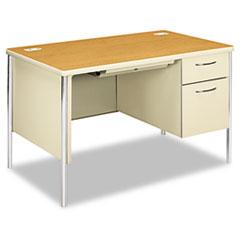 HON88251RCL - HON® Mentor® Series Single Pedestal Desk