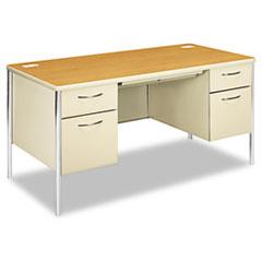 HON88962CL - HON® Mentor® Series Double Pedestal Desk