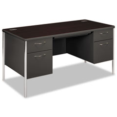 HON88962NS - HON® Mentor® Series Double Pedestal Desk