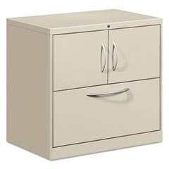 HONFC1830DLFALQ - HON® Flagship® File Center with Storage Cabinet and Lateral File
