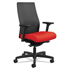 HONI2M2AMLC67TK - HON® Ignition 2.0™ Ilira-Stretch Mid-Back Mesh Task Chair