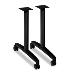 HONMTLEG24CP - HON® Huddle Series T-Leg Table Base