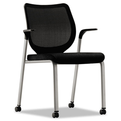 HONN606NT10T1 - HON® Nucleus® Series Multipurpose Stacking Chair with ilira®-Stretch M4 Back