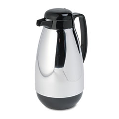 HORPM10CJ - Hormel Vacuum Glass Lined Chrome-Plated Carafe
