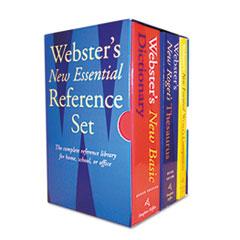 HOU1020842 - Houghton Mifflin Webster's New Essential Reference Desk Set