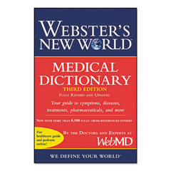 HOU1549536 - Houghton Mifflin Webster's New World™ Medical Dictionary, Third Edition