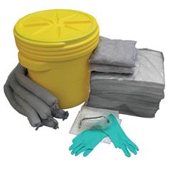 HSCAS-SK20G - Hospeco - AllSorb™Universal Spill Kit Over Packs, 20 Gallon Pail