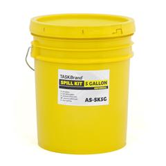 HSCAS-SK5G - HospecoAllSorb™Universal Spill Kit Over Packs, 5 Gallon Bucket
