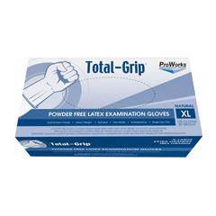 HSCGL-L110FX - HospecoTotal-Grip Heavy Weight Latex Examination Grade Glove - X Large