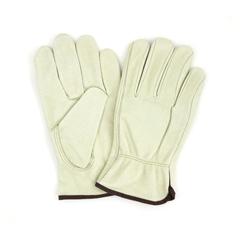 HSCGWCGLDR1-M - HospecoProWorks® Standard Grain Cowhide Driver Gloves