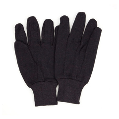 HSCGWJBSW-1 - HospecoProWorks® Brown Jersey Gloves