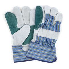 HSCGWLDBP1 - HospecoLeather Double Palm Gloves