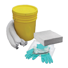 HSCOS-SK5G - HospecoAllSorb™Oil Only Spill Kit Over Packs, 5 Gallon Bucket