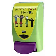 HSCWYH1LDS - HospecoDeb Stoko® 1L Restyle Curve Kids Wash Dispenser