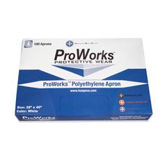 HSCDA-AP2846 - HospecoProWorks™ Polyethylene Apron