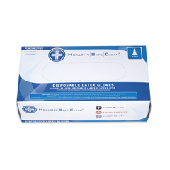 HSCGL-L105FS - HospecoProWorks® Latex Powder-Free Disposable Gloves - Small