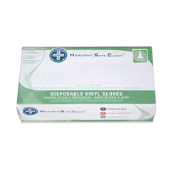 HSCGL-V103FX - HospecoProWorks® Vinyl Powder-Free Disposable Gloves - X Large