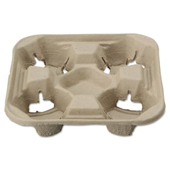 HTMFIELD - Chinet® StrongHolder® Molded Fiber Cup Trays