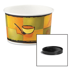 HUH71849 - Huhtamaki Soup Containers with Vented Lids