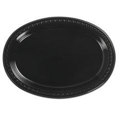 HUH81411 - Huhtamaki Chinet® Heavyweight Plastic Platters