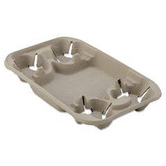 HUHFOND - Chinet® StrongHolder® Molded Fiber Carriers and Trays