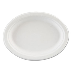 HUHVOGUE - Classic White™ Premium Strength Molded Fiber Dinnerware