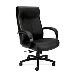 BSXVL685SB11 - basyx™ Executive High-Back Big & Tall Leather Chair