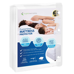 BBGHYB-1001 - Bed Bug 911Hygea Natural™ Luxurious Bed Bug Mattress Cover- Twin Size