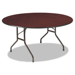 ICE55264 - Iceberg Premium Wood Laminate Round Folding Table