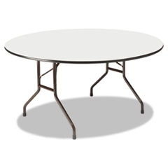 ICE55267 - Iceberg Premium Wood Laminate Round Folding Table