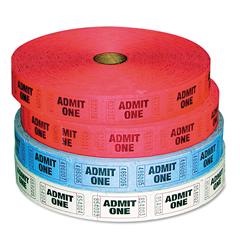 ICX94190081 - Iconex™ Admit-One Ticket Multi-Pack