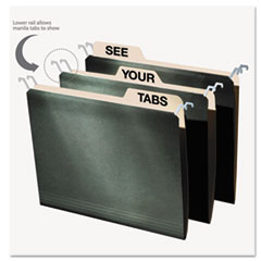IDEFT07033 - find It™ Hanging File Folders with Innovative Top Rail