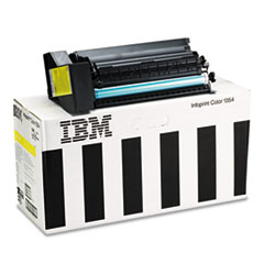 IFP75P4058 - InfoPrint Solutions Company 75P4058 High-Yield Toner, 15000 Page-Yield, Yellow