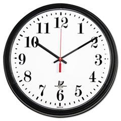 ILC67700002 - Chicago Lighthouse Black Quartz CONTRACT Clock