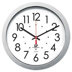 ILC67818003 - Chicago Lighthouse Silver Contemporary Clock