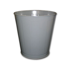 IMP1302-3 - 28-Quart Round Metal Wastebasket
