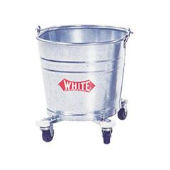 IMP260 - Galvanized Steel Bucket with Casters