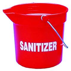 IMP5510RS - Deluxe Heavy-Duty Sanitizer Bucket
