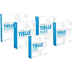IND53MTL102-BX - Systagenix - TIELLE Adhesive Hydropolymer Dressing 5-7/8 x 7-3/4, 5/BX