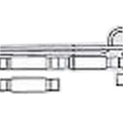 IND55003760-EA - Vyaire Medical - Adult Single-Limb Portable Ventilator Circuit, 1/EA
