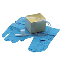 IND554864T-EA - Vyaire MedicalCath-N-Gloves Suction Kit in Peel Pouch with Tri-Flo Suction Catheter,  14 Fr, 1/EA