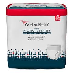 IND55UWMBLXL-CS - Cardinal HealthFlexRight Maximum Absorbency Protective Underwear for Men, Large/XL, 10 EA/PK, 4 PK/CS