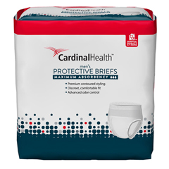 IND55UWMBSM-CS - Cardinal HealthFlexRight Protective Maximum Absorbency Underwear for Men, Small/Medium, 12 EA/PK, 4 PK/CS