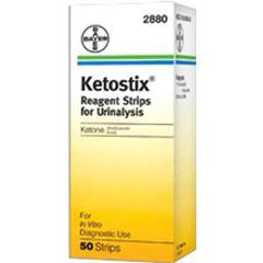 IND562880-BX - Ascensia Diabetes Care - Ketostix Urine Reagent Test Strip (50 count), 50/BX