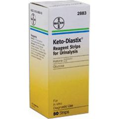 IND562883-BX - Ascensia Diabetes CareKeto-Diastix Reagent Test Strip (50 count), 50/BX