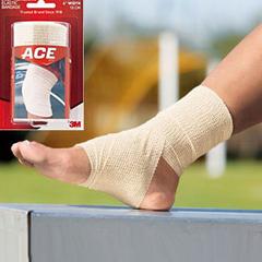 IND58207462-EA - 3M - Self-Adhering Athletic Bandage 4 x 5 yds. Stretched, 1/EA