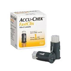 IND5905360145001-BX - Roche - Accu-Chek FastClix Lancet 30G Drum (102 count)
