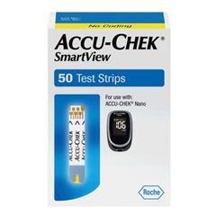 IND5906337538001-BX - Roche - Accu-Chek SmartView Retail Test Strip (50 count)