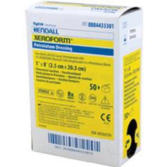 IND61433301-EA - Cardinal Health - Xeroform Occlusive Petrolatum Gauze Patch, 1 x 8, 1/EA