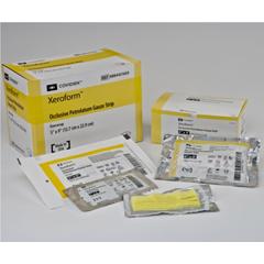 IND61433500-EA - Cardinal Health - XEROFORM Sterile Petrolatum Gauze Patch 4 x 4, 1/EA